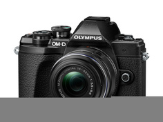 Фотоаппарат Olympus OM-D E-M10 Mark III Kit 14-42 mm II R Black