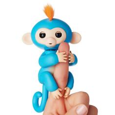 Игрушка Интерактивная обезьянка Fingerlings Baby Monkey Борис Blue