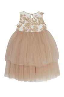 Платье с драпированным подолом Balloon and Butterfly