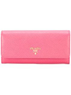 удлиненный кошелек Prada