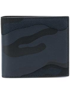бумажник с камуфляжным принтом Valentino