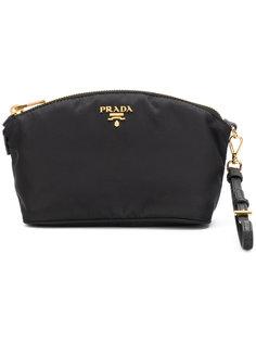 текстильный клатч Prada
