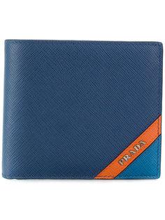 бумажник с контрастной полосой Prada
