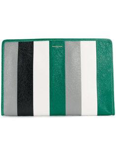 полосатая сумка Bazar Balenciaga