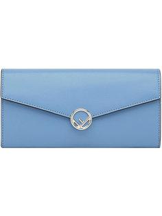 удлиненный кошелек с логотипом Fendi