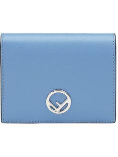 складной кошелек с логотипом Fendi