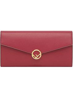 кошелек-конверт с логотипом Fendi