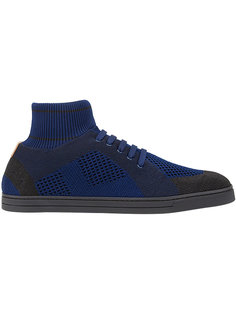кроссовки с деталью в виде носка Fendi