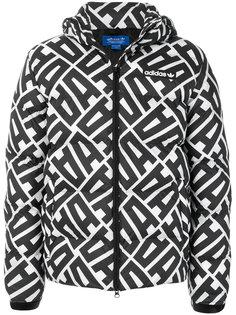 пуховая куртка Adidas Originals с графическим принтом Adidas