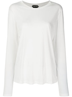 футболка с длинными рукавами Tom Ford