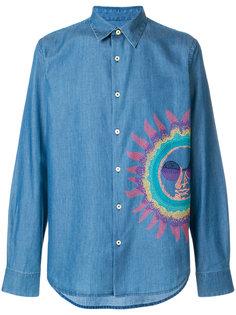 рубашка с вышивкой Paul Smith