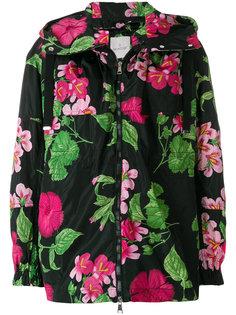 куртка с цветочным принтом Moncler