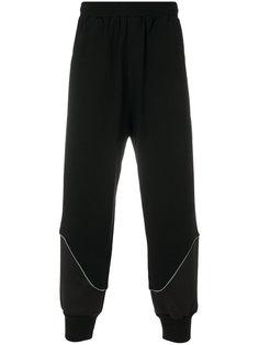 спортивные брюки с эластичными манжетами Dirk Bikkembergs