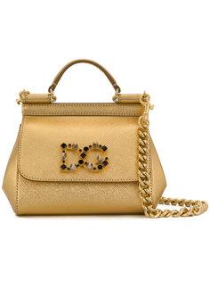 сумка-тоут с логотипом Sicily  Dolce & Gabbana