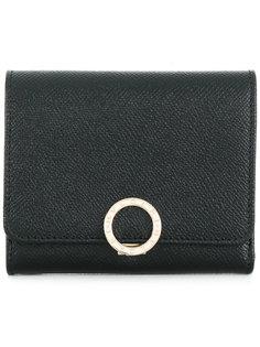 бумажник с откидным верхом Bulgari