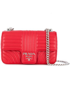 matelassé shoulder bag Prada