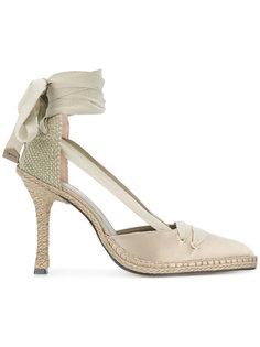 туфли на среднем каблуке Manolo X Castaner
