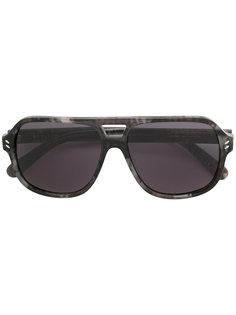 """массивные солнцезащитные очки """"авиаторы"""" Stella Mccartney Eyewear"""