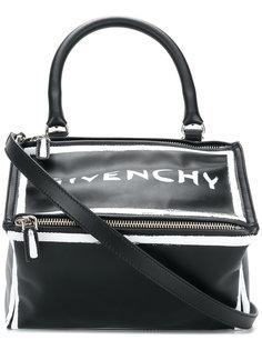 сумка-тоут с логотипом Pandora Givenchy
