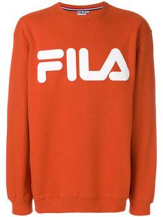 logo print sweatshirt Fila