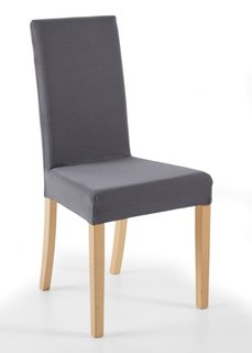 Чехол для стула Непал (антрацитовый) Bonprix