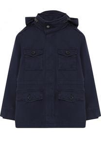 Текстильная куртка с подстежкой и капюшоном Polo Ralph Lauren
