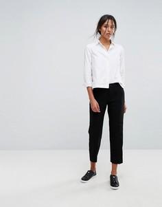 Строгие суженные брюки Esprit - Черный