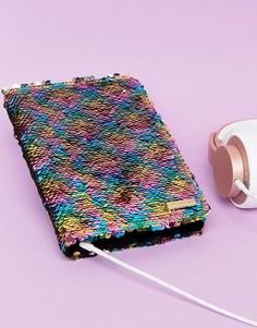 Чехол для iPad Mini с разноцветными пайетками Skinnydip - Мульти