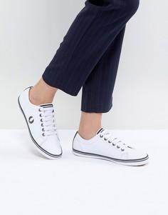 Кроссовки на шнуровке с отделкой Fred Perry Kingston - Мульти