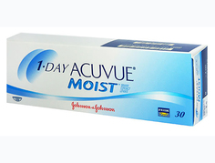 Контактные линзы Johnson & Johnson 1-Day Acuvue Moist (30 линз / 8.5 / -2)