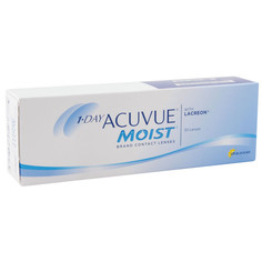 Контактные линзы Johnson & Johnson 1-Day Acuvue Moist (30 линз / 8.5 / -6)