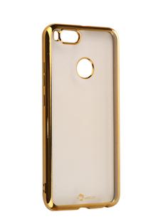Аксессуар Чехол Xiaomi Mi 5X/A1 SkinBox Silicone Chrome Border 4People Gold T-S-XM5X-008
