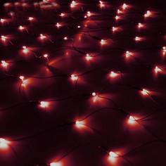 Гирлянда Luazon Сетка 1.2x1.1m LED-144-220V Red 187226