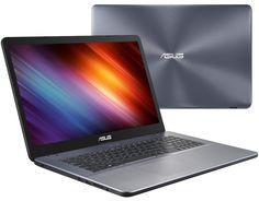 Ноутбук ASUS X705UV-BX111 90NB0EW2-M02450 (Intel Pentium 4405U 2.1 GHz/4096Mb/1000Gb/No ODD/nVidia GeForce 920MX 2048Mb/Wi-Fi/Bluetooth/Cam/17.3/1600x900/Endless)