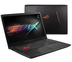 Ноутбук ASUS GL702VS-GC250T 90NB0DZ3-M03480 (Intel Core i7-7700HQ 2.8 GHz/16384Mb/1000Gb + 256Gb SSD/No ODD/nVidia GeForce GTX 1070 8192Mb/Wi-Fi/Bluetooth/Cam/17.3/1920x1080/Windows 10 64-bit)
