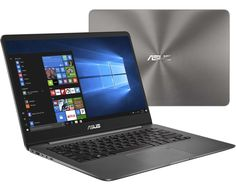 Ноутбук ASUS UX430UN-GV135T 90NB0GH1-M02820 (Intel Core i5-8250U 1.6 GHz/8192Mb/512Gb SSD/No ODD/nVidia GeForce MX150 2048Mb/Wi-Fi/Bluetooth/Cam/14.0/1920x1080/Windows 10 64-bit)