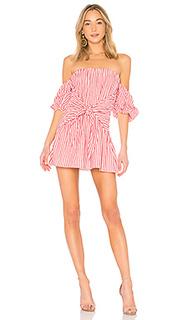 Платье с открытыми плечами kiwi - Lovers + Friends