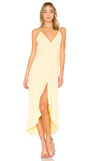 Платье макси без рукавов с запахом harbor - Privacy Please