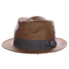 Шляпа Brixton Baxter Fedora Brown/Charcoal