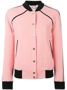 куртка бомбер с контрастным подолом Kenzo