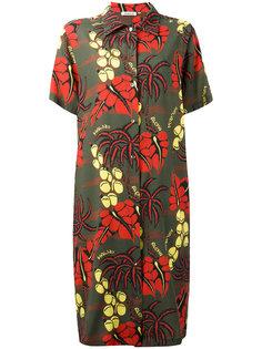 платье с рисунком на ботаническую тему P.A.R.O.S.H.
