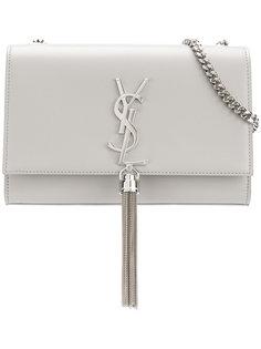 сумка среднего размера Kate с кисточкой Saint Laurent