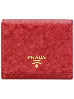складывающийся втрое кошелек Prada