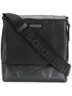 перфорированная сумка-почтальонка  Baldinini