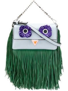 декорированная сумка Baguette Fendi