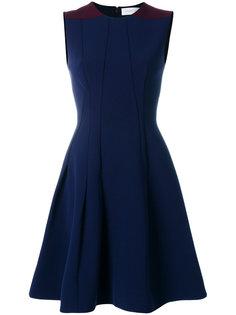 приталенное платье со вставками  Victoria Beckham