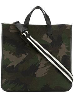 сумка через плечо с камуфляжным пальмовым принтом  Tomas Maier