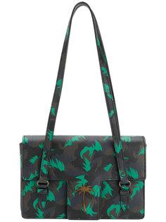 камуфляжная сумка с пальмами Tomas Maier