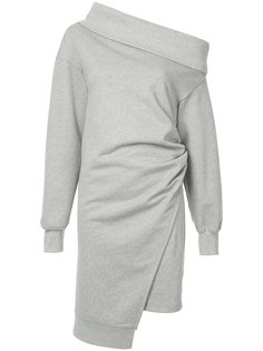 асимметричное платье с открытым плечом Goen.J