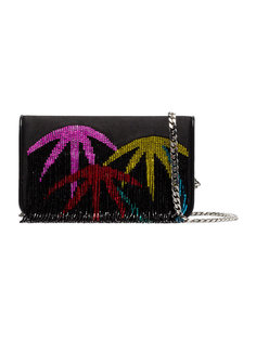 клатч Palm Tree с бахромой Les Petits Joueurs